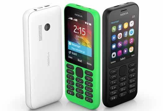 Nokia 215 colores