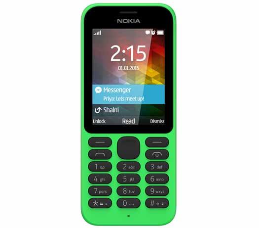 Nokia 215 frente