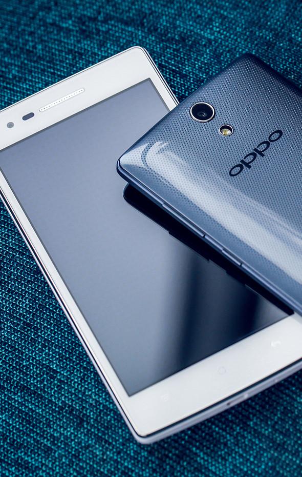 Oppo Mirror 3 pantalla y cubierta