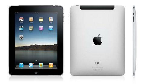 Primer iPad tres vistas