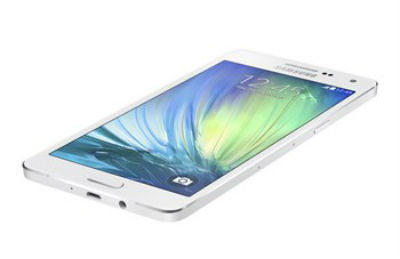 Galaxy A5 color blanco recostado