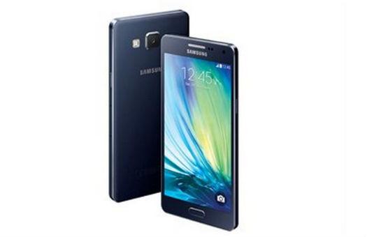 Galaxy A5 color azul pantalla y cámara trasera