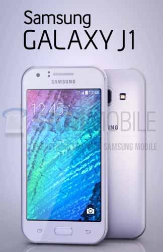 Samsung Galaxy J1 filtrado