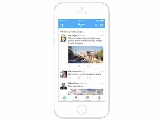 Twitter lanza Mientras no estabas: no te perderás tuits importantes