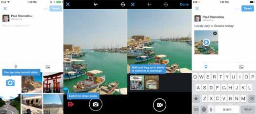Twitter estrena Compartir Videos y Mensajes directos en Grupo