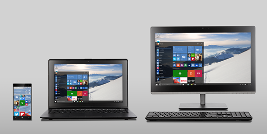 Windows 10 imagen promocional