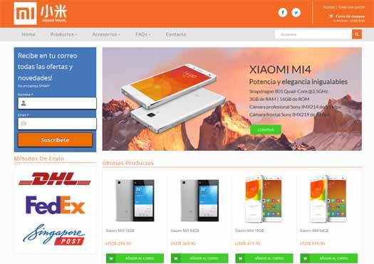 Xiaomi tienda on line Latinoamérica