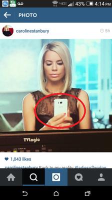 Galaxy S6 filtrado en Instagram