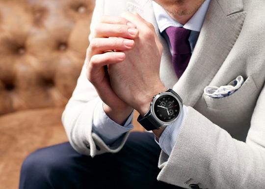 LG G Watch Urbane puesto