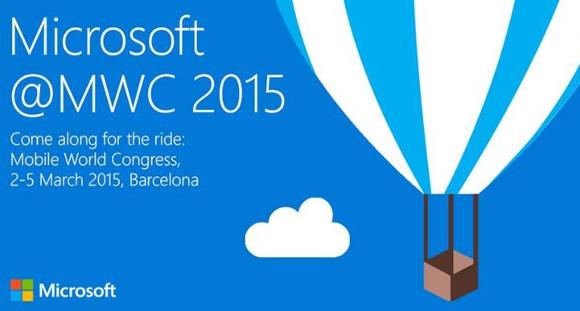 Microsoft evento MWC 2015