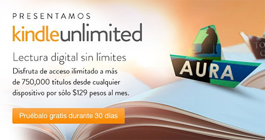 Amazon Kindle Unlimited en México
