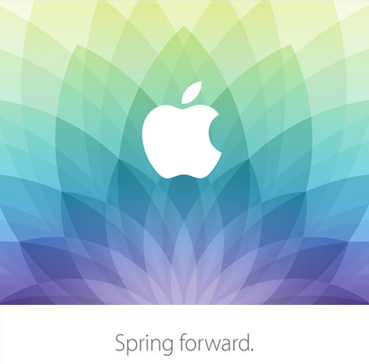 Invitación Apple Spring Fordward