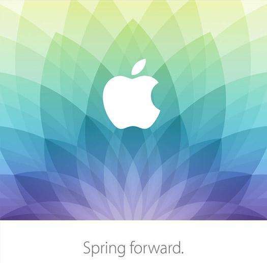 Invitación Apple Spring Fordward
