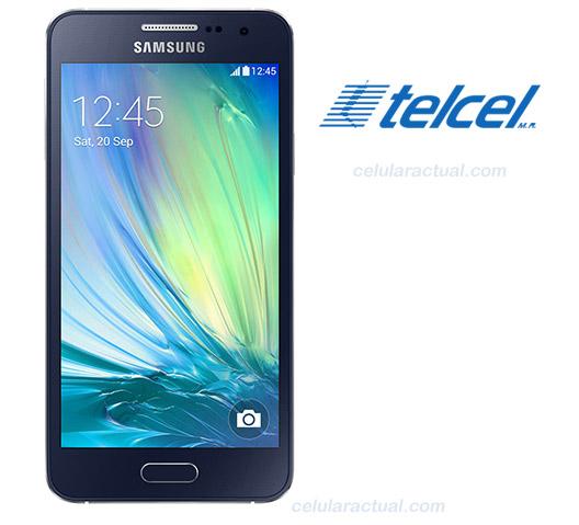 Galaxy A3 en México con Telcel