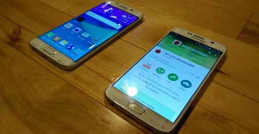 Samsung Galaxy S6 y S6 Edge foto real