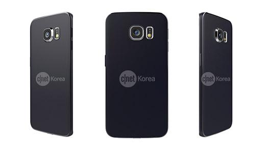 Samsung Galaxy S6 Edge render oficial  cámara trasera