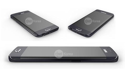 Samsung Galaxy S6 Edge render oficial