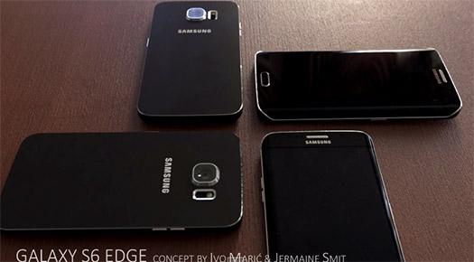 Video del Galaxy S6 y Galaxy S6 Edge en video render