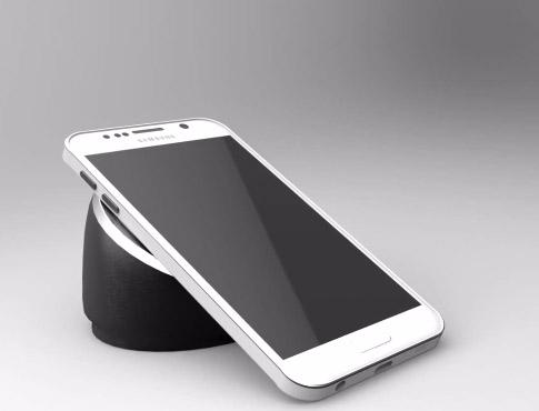 Samsung Galaxy S6 carga inalámbrica video