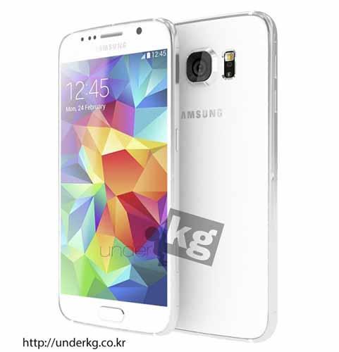 Galaxy S6 render preciso