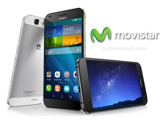 Huawei Ascend G7  en México con Movistar