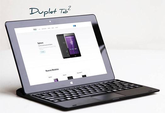 Inco Duplet Tab 2 nueva tablet Windows 8.1 ya a la venta en México