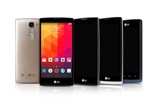 LG serie gama media reverso