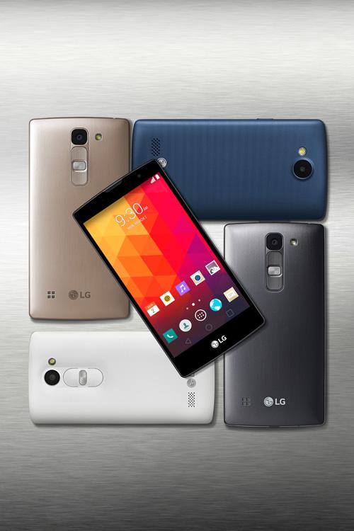 LG smartphones 2015 gama media