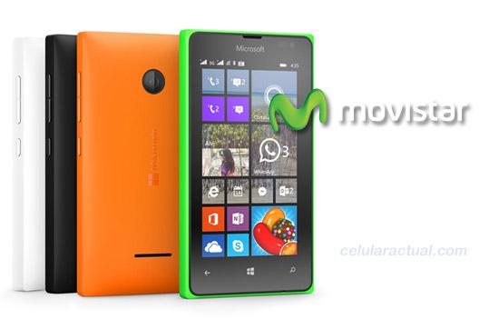 Lumia 435 en Movistar México