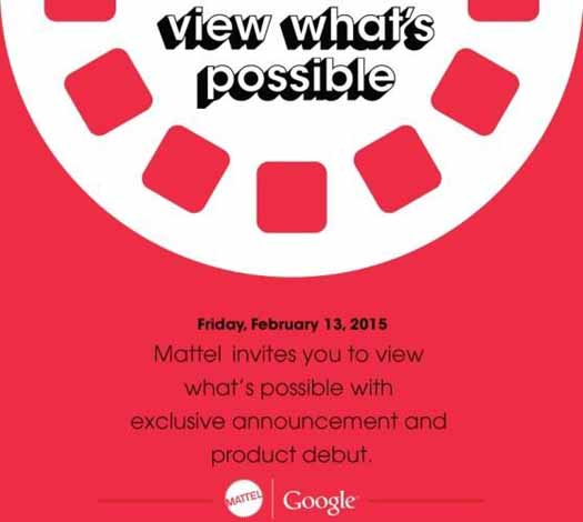 Invitación Google y Mattel