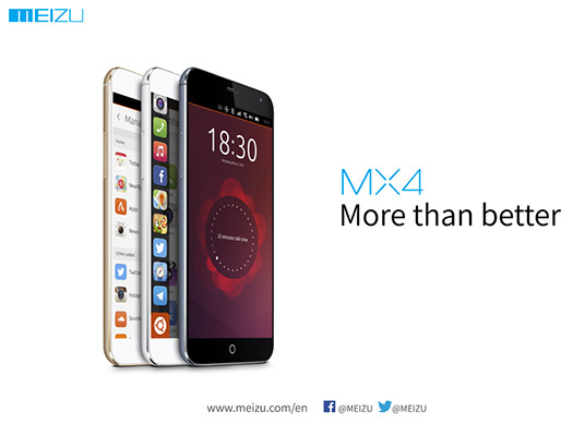 Meizu MX4 Ubuntu Edition teaser