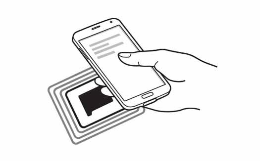 Sistema NFC de Samsung