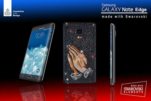 Samsung Galaxy Note Edge edición Swarovski se presenta