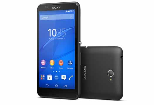 Sony Xperia E4 oficial