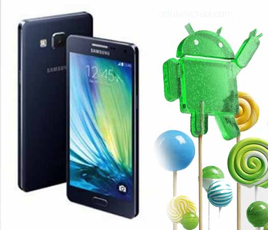 Galaxy A Android Lollipop