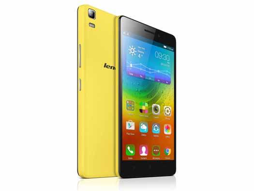 Lenovo A7000 oficial amarillo