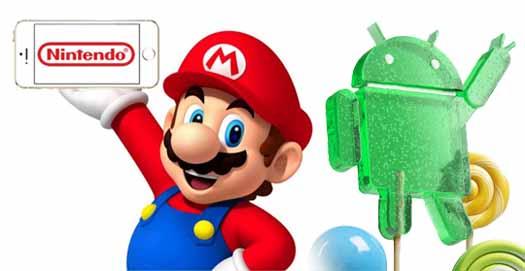 Nintendo y Android logos