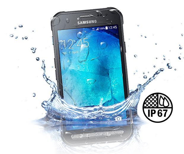 Samsung Galaxy Xcover 3 resistencia al agua
