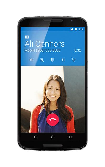 Android 5.1 Lollipop llamada por voz HD