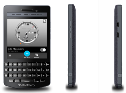 BlackBerry lanza el lujoso Porsche Design P'9983 Graphite