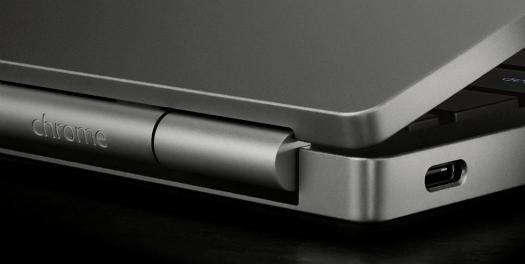 Chromebook Pixel 2015 logo inscrito