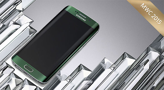 Galaxy S6 edge en el MWC 2015