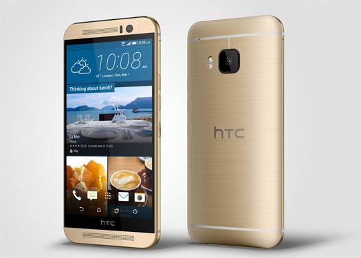 HTC One M9 pantalla y cámara