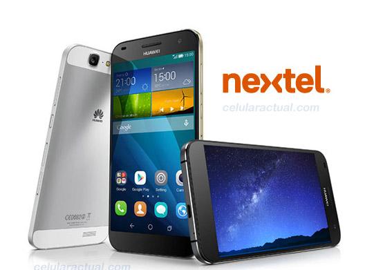 Huawei Ascend G7 en Nextel  México