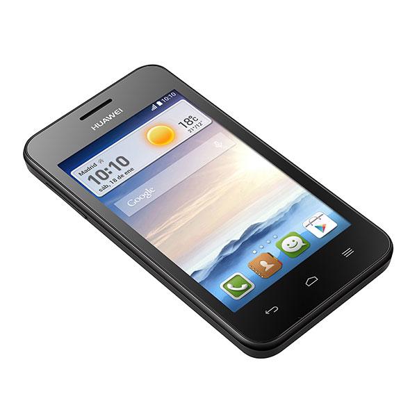 Huawei Ascend Y330 pantalla de lado izquierdo