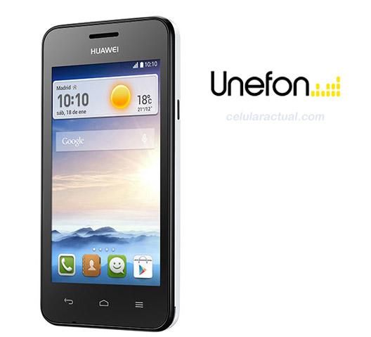 Huawei Ascend Y330 en Unefon