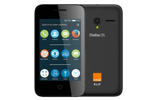 Orange Klif con Firefox OS