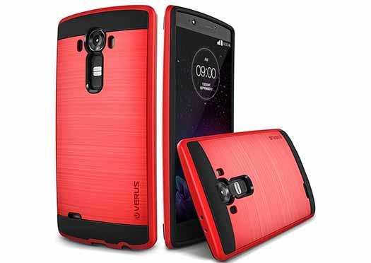 Funda Verus para LG G4 roja