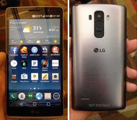 LG G4 filtrado en directo