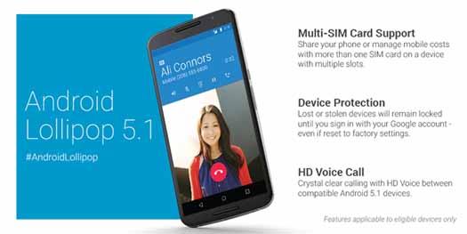 Android 5.0 Lollipop actualización